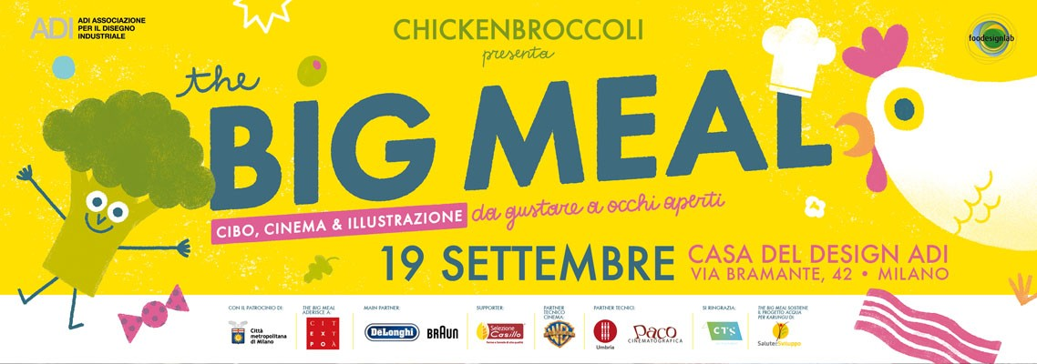 The Big Meal. Cinema, Cibo & Illustrazione da gustare ad occhi aperti