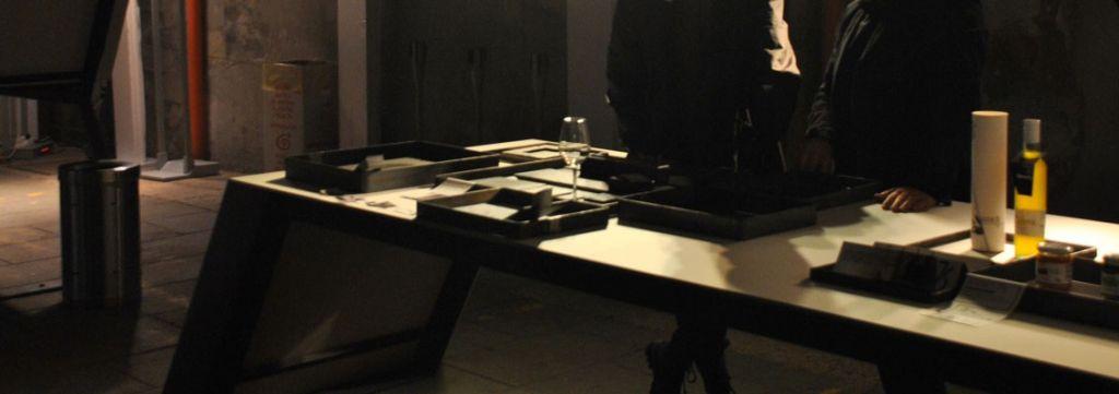 Performance show cooking di Stefano De Gregorio per lo spazio Recinti